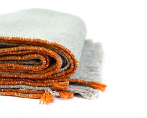 decken teixidores aus öko-schafwolle