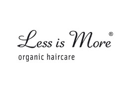 less is more haircare