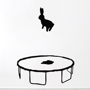 wall-sticker hase
