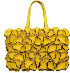 blossom bag tasche gelb