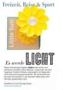solar-lampe little sun