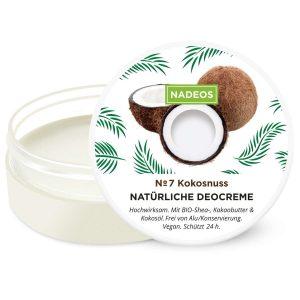 NADEOS alumiumfreie Deo-Creme und Naturkosmetik