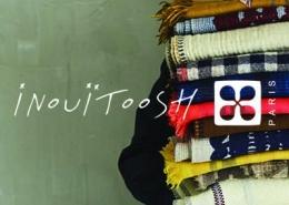 inouitoosh: die schals aus wolle und seide mit besonderen motiven
