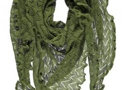 invero: dreiecktuch aus merino wolle