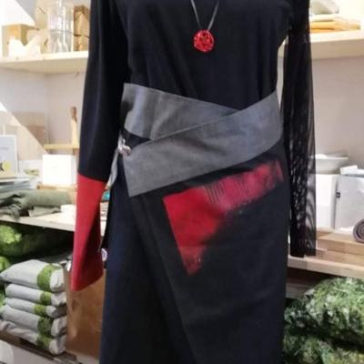 spiriti'm designer kleidung - handbemalt
