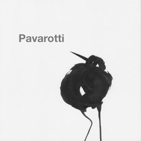 tuschevogel von claudia-rannow - Pavarotti
