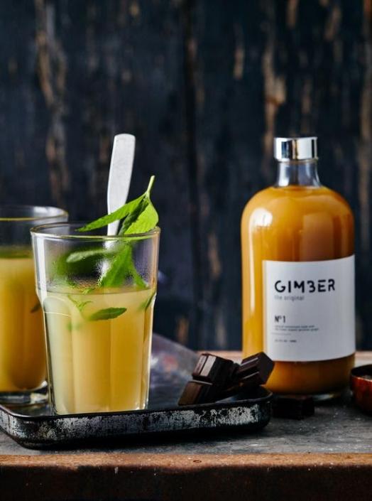 gimber ingwer-drink