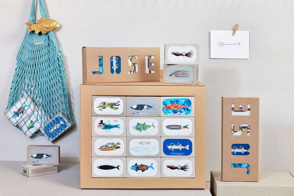 neujahrsgeschenk jose gourmet sardinen & markrelen
