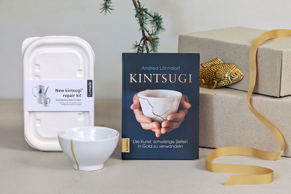 weihnachtsgeschenk für frauen - kintsugi