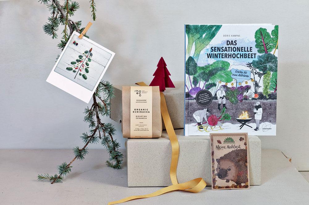 geschenk - das sensationelle winterhochbeet