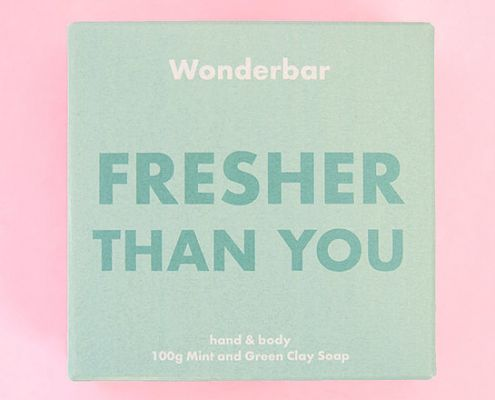 fresher than you - wonderbar soap