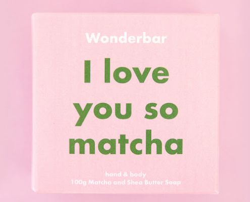i love you so matcha - wonderbar seife